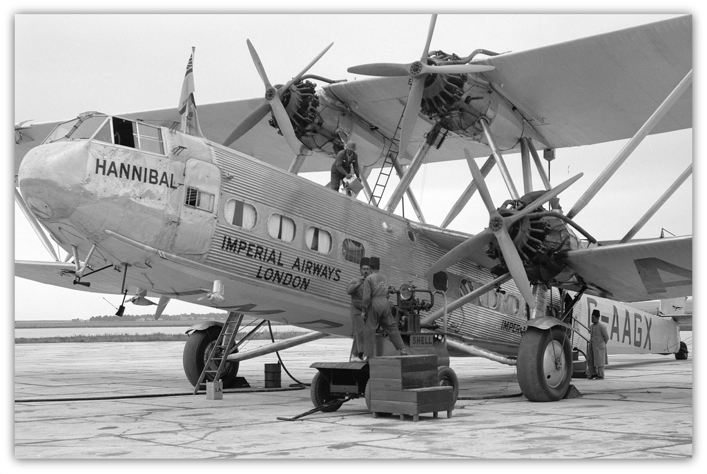 Handley Page H.P.42 Backgrounds on Wallpapers Vista