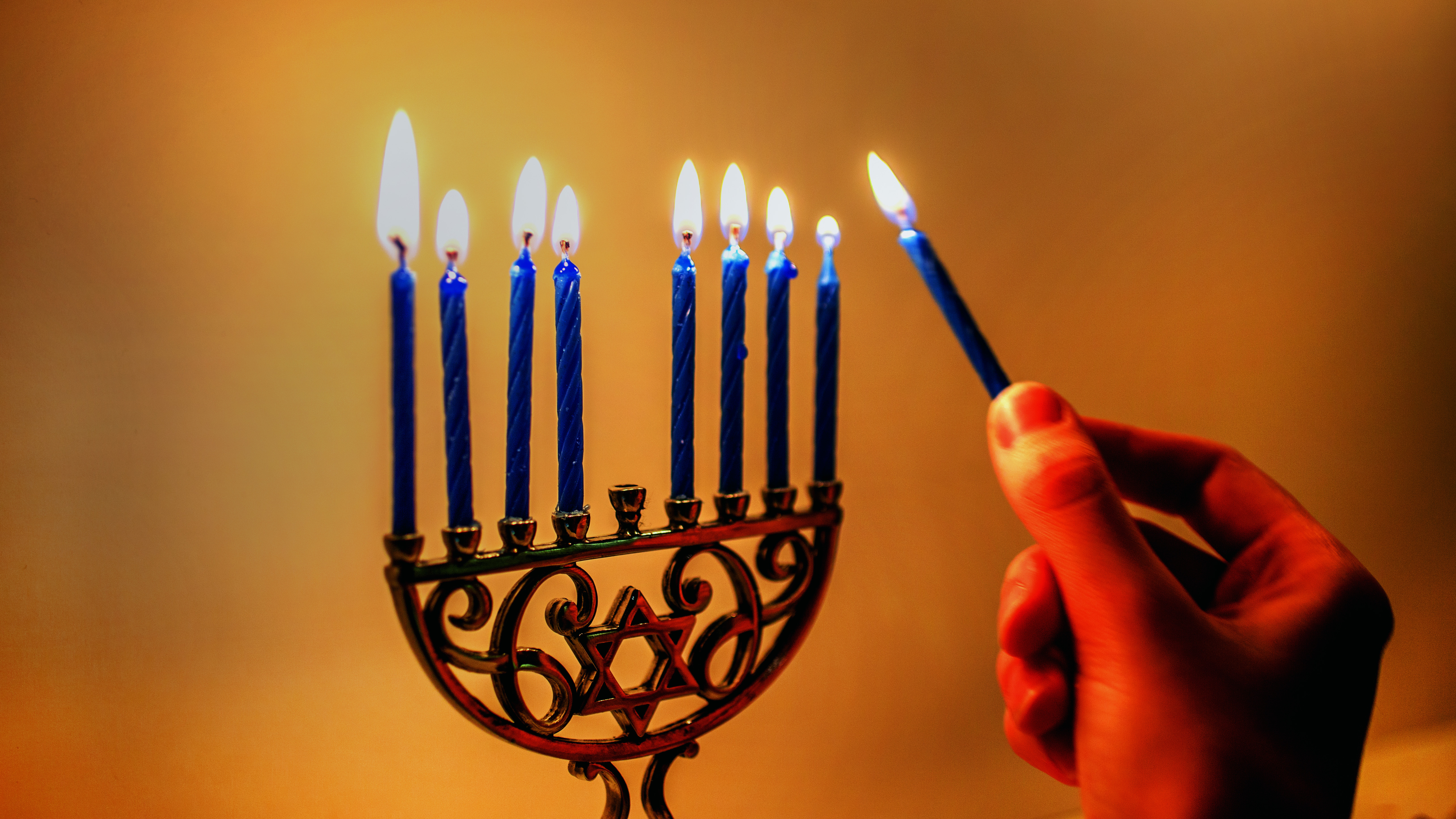 Hanukkah Backgrounds, Compatible - PC, Mobile, Gadgets| 5137x2890 px