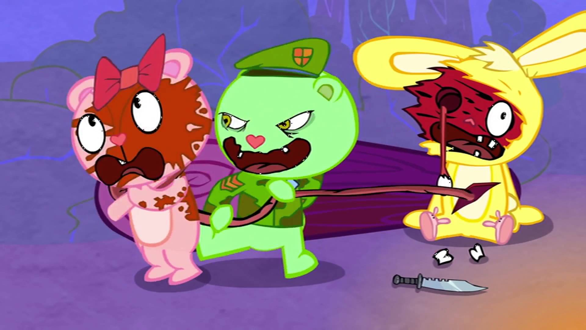 HD Quality Wallpaper | Collection: Anime, 1920x1080 Happy Tree Friends