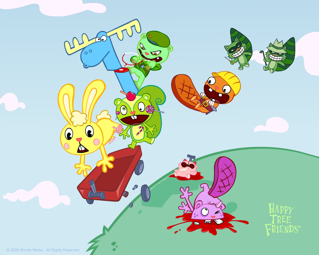 Happy Tree Friends Backgrounds on Wallpapers Vista