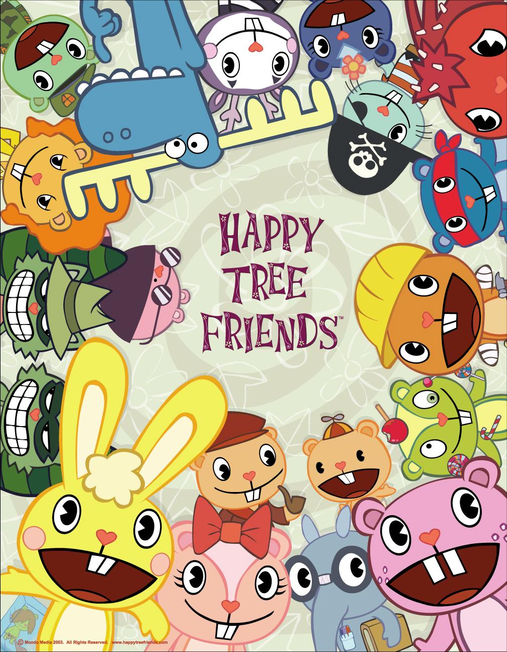 HQ Happy Tree Friends Wallpapers | File 1042.48Kb