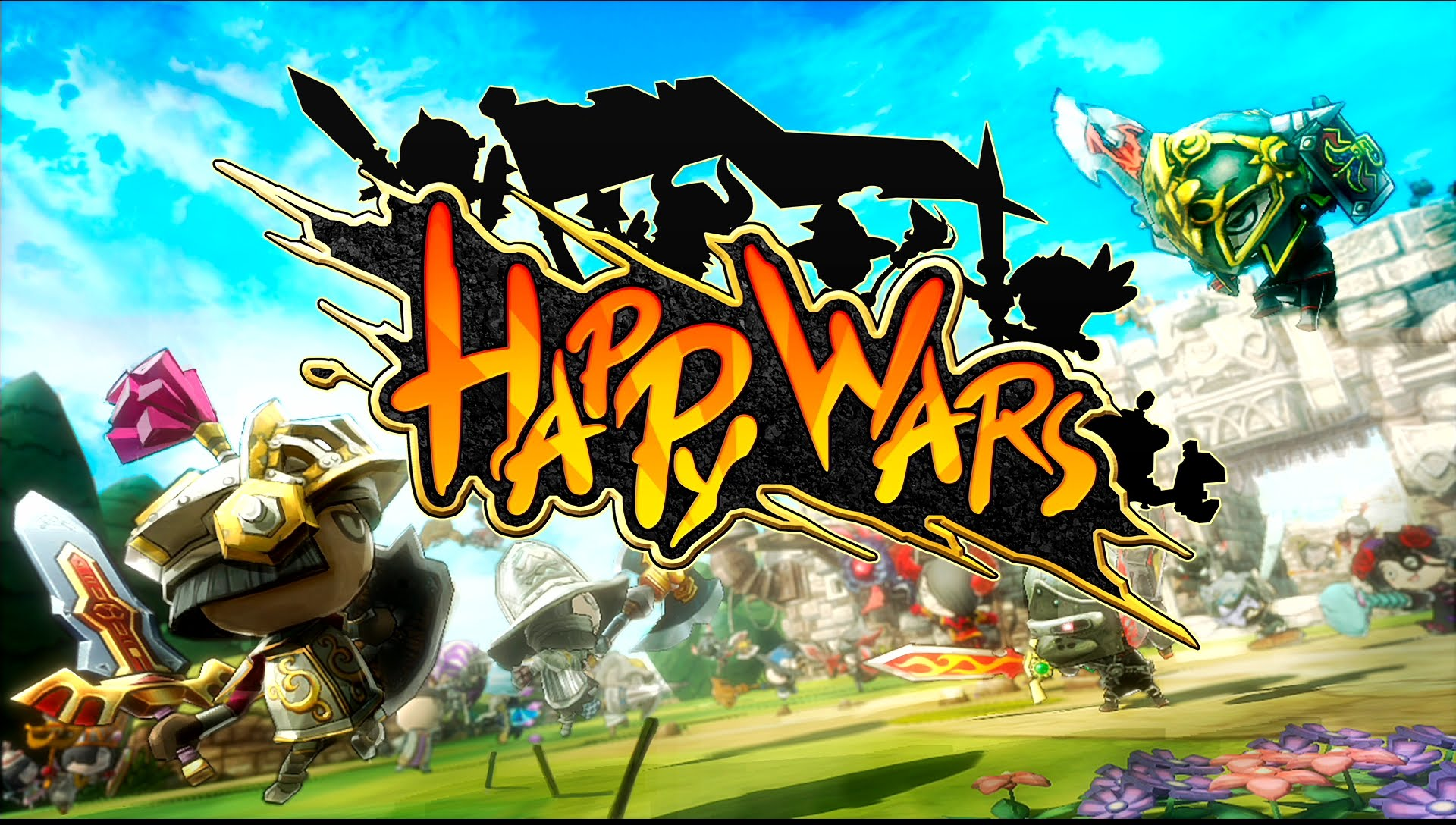 Nice wallpapers Happy Wars 1920x1088px