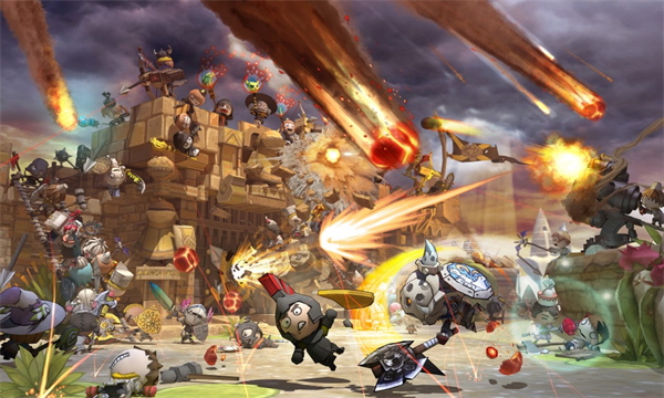 Nice wallpapers Happy Wars 600x360px