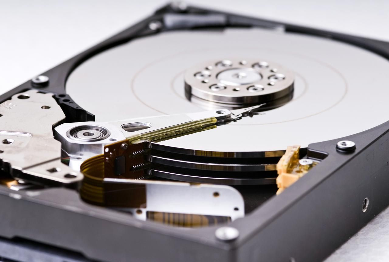 Nice Images Collection: Hard Disk Drive Desktop Wallpapers