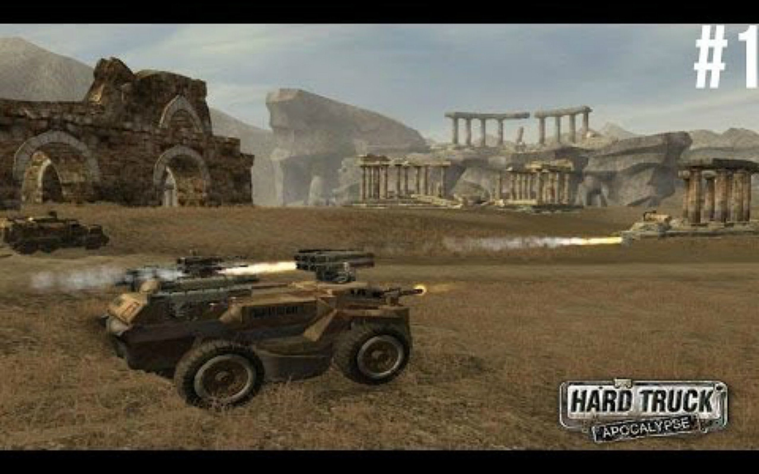 HD Quality Wallpaper | Collection: Video Game, 2560x1600 Hard Truck: Apocalypse Rise Of Clans   Ex Machina: Meridian