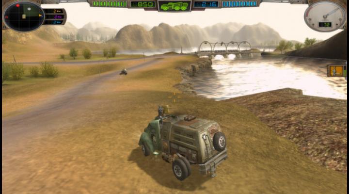 Hard Truck: Apocalypse Rise Of Clans   Ex Machina: Meridian  #12