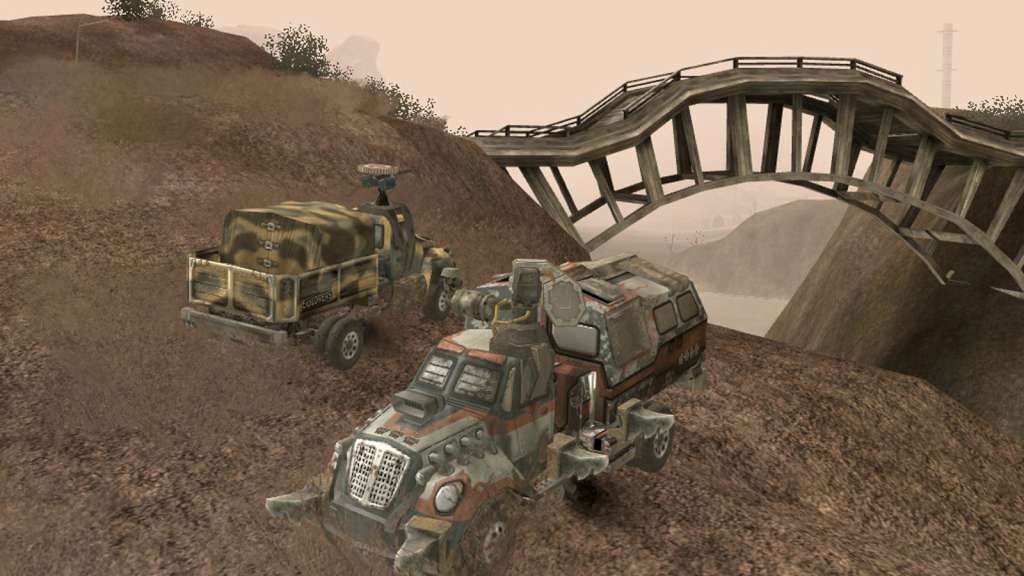 HD Quality Wallpaper | Collection: Video Game, 1024x576 Hard Truck: Apocalypse Rise Of Clans   Ex Machina: Meridian