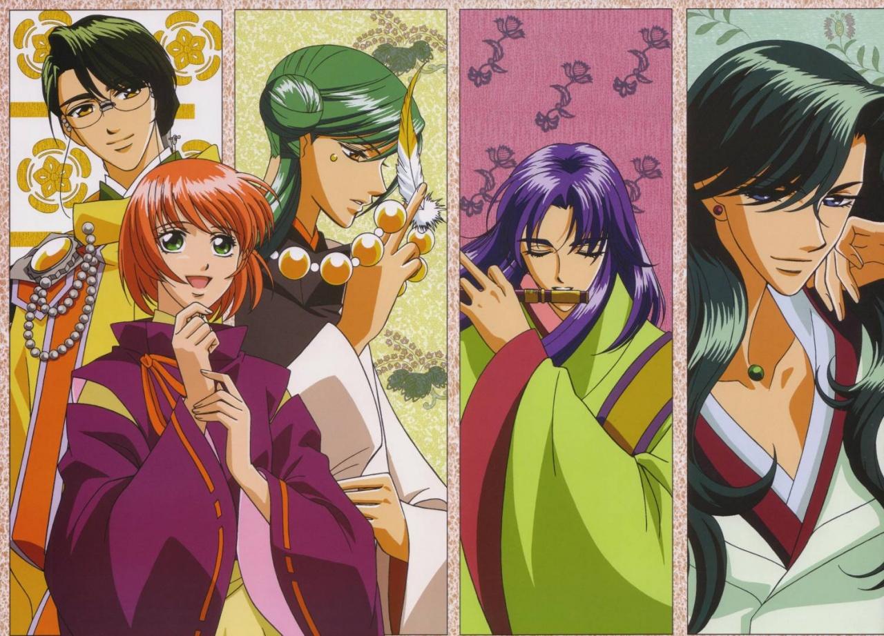 Harukanaru Toki No Naka De Pics, Anime Collection