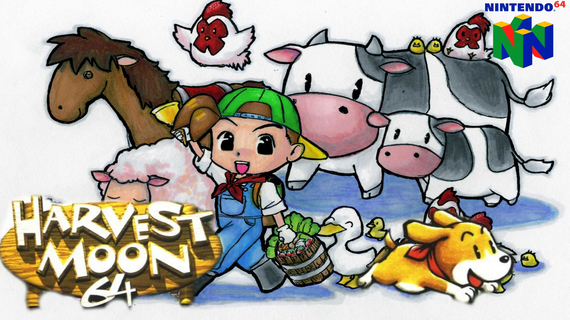 Images of Harvest Moon 64 | 1920x1080