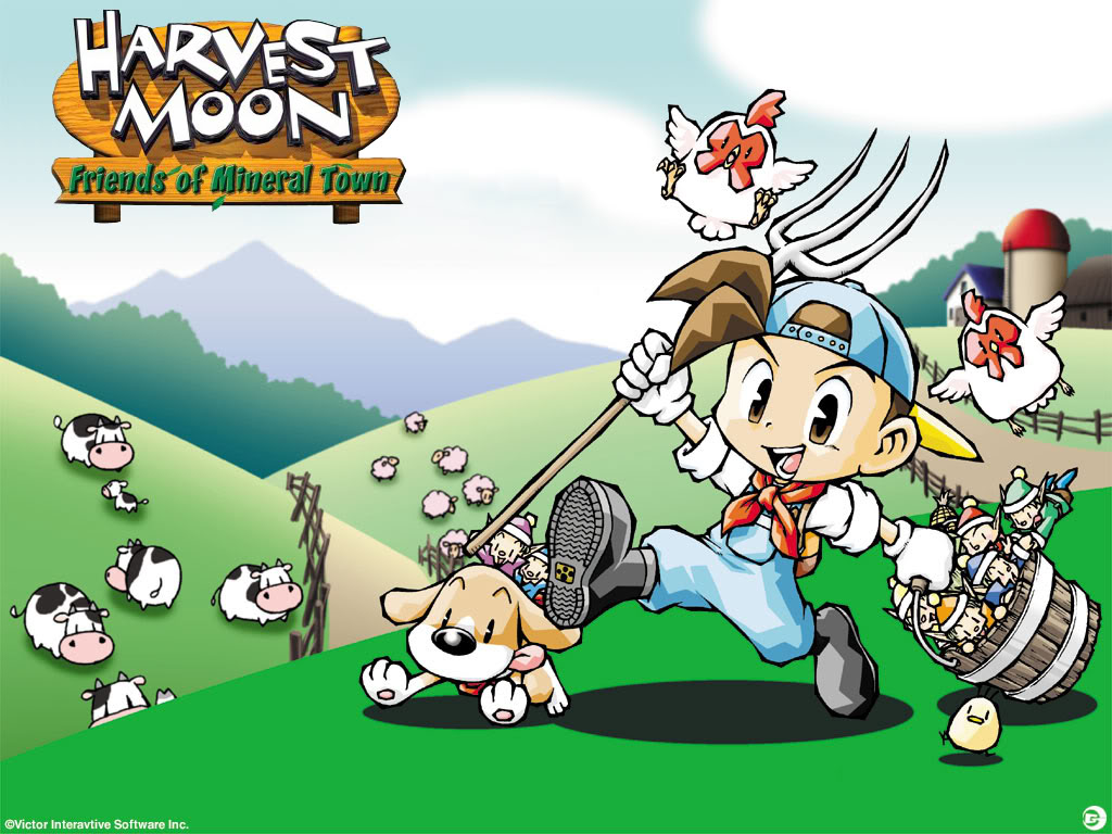 Nice Images Collection: Harvest Moon: Friends Of Mineral Town Desktop Wallpapers