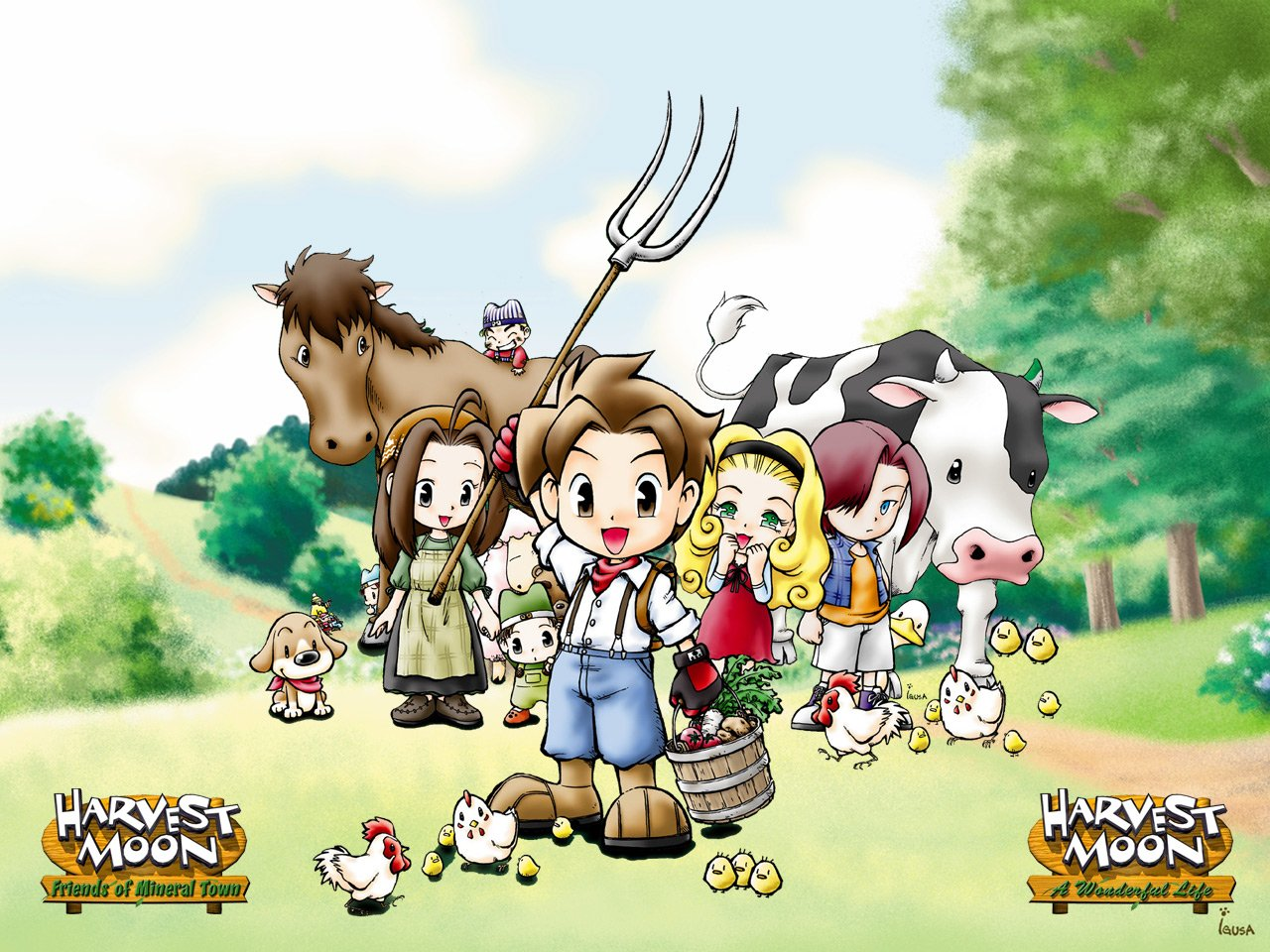 High Resolution Wallpaper | Harvest Moon: Friends Of Mineral Town 1280x960 px