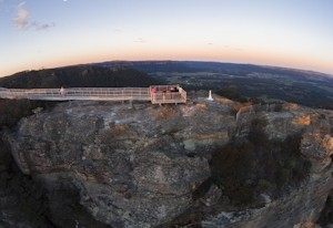 Images of Hassans Walls Lookout | 300x206