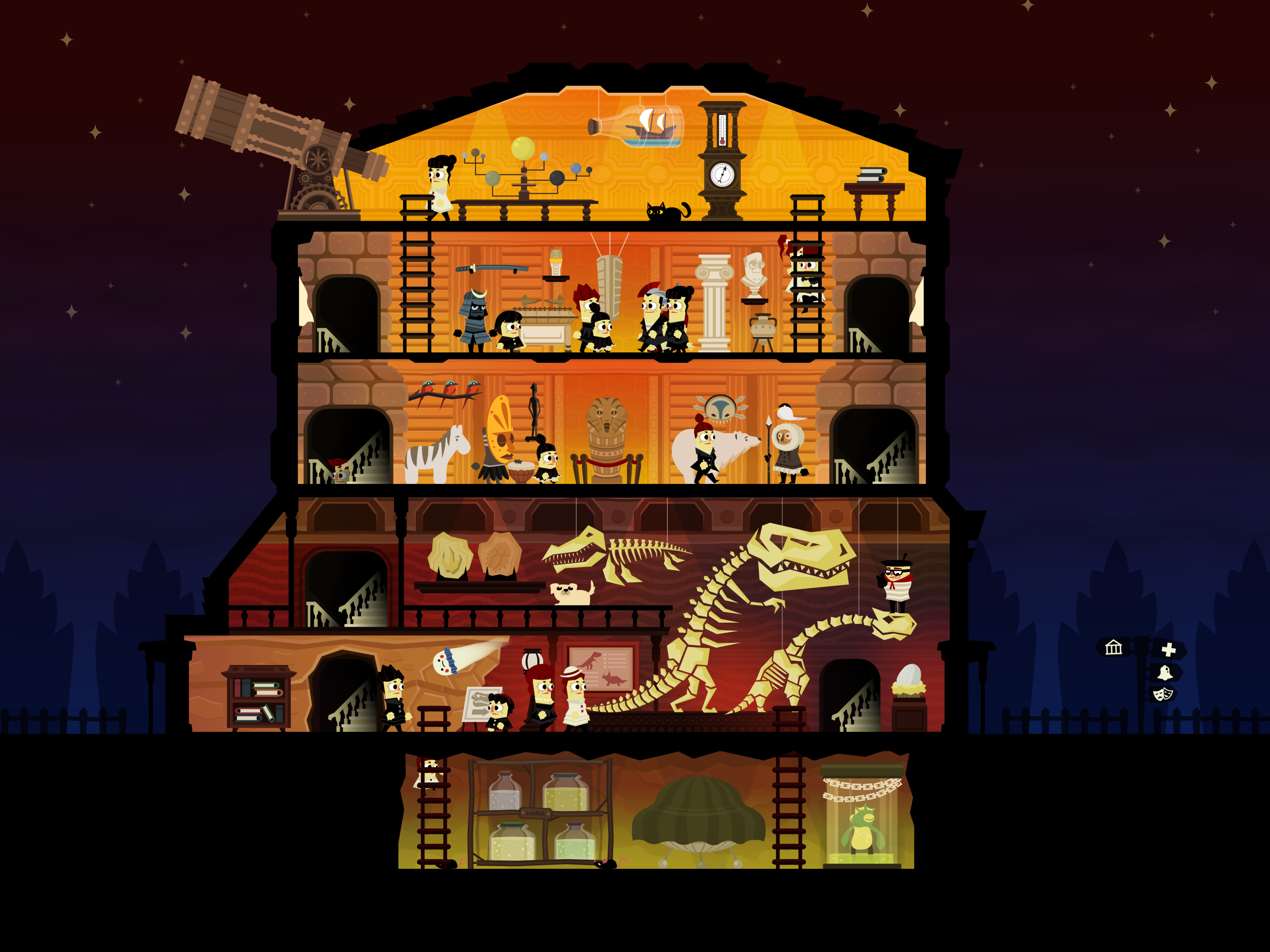 7200x5400 > Haunt The House: Terrortown Wallpapers