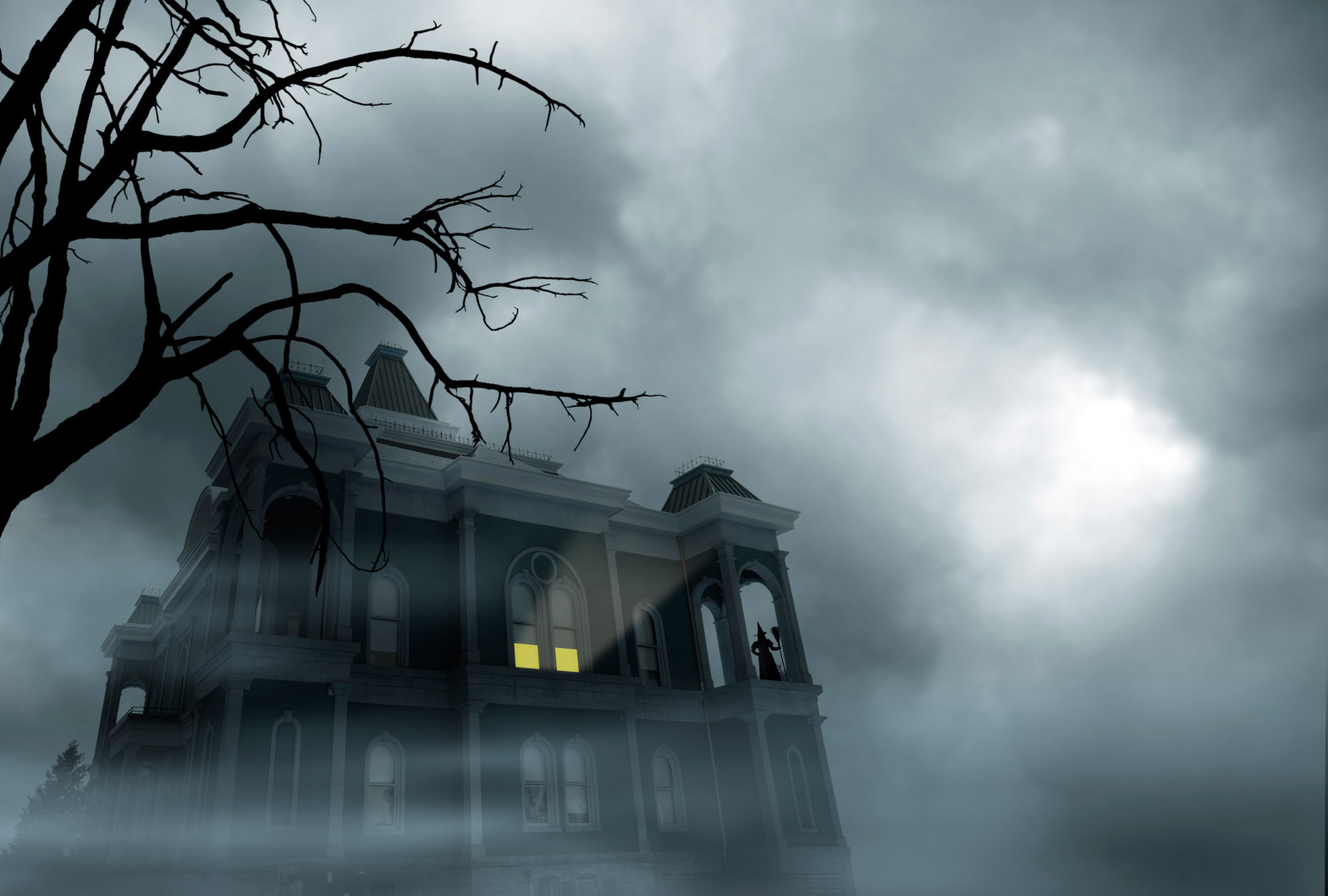 HD Quality Wallpaper | Collection: Dark, 1569x1059 Haunted