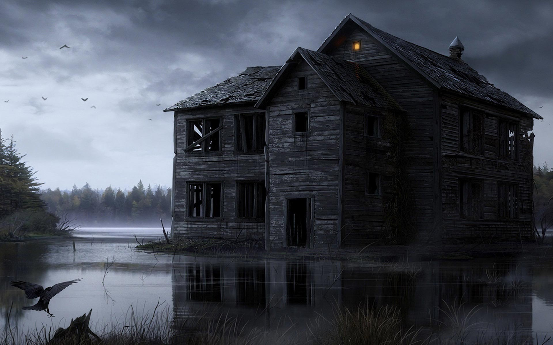 Nice wallpapers Haunted 1920x1200px