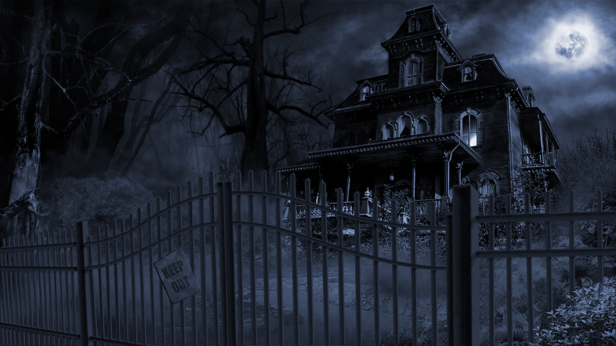 HD Quality Wallpaper | Collection: Dark, 1244x700 Haunted