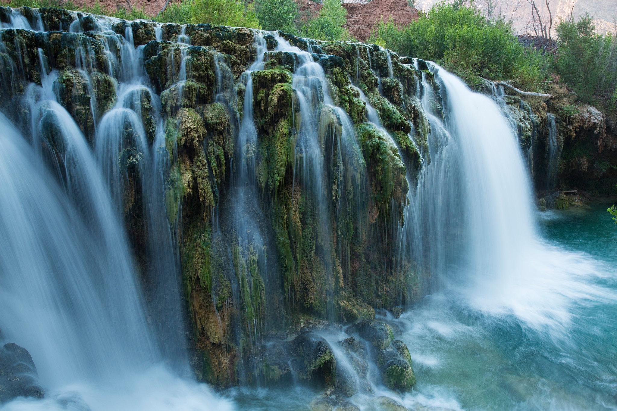 Havasu Falls Backgrounds, Compatible - PC, Mobile, Gadgets| 2048x1365 px