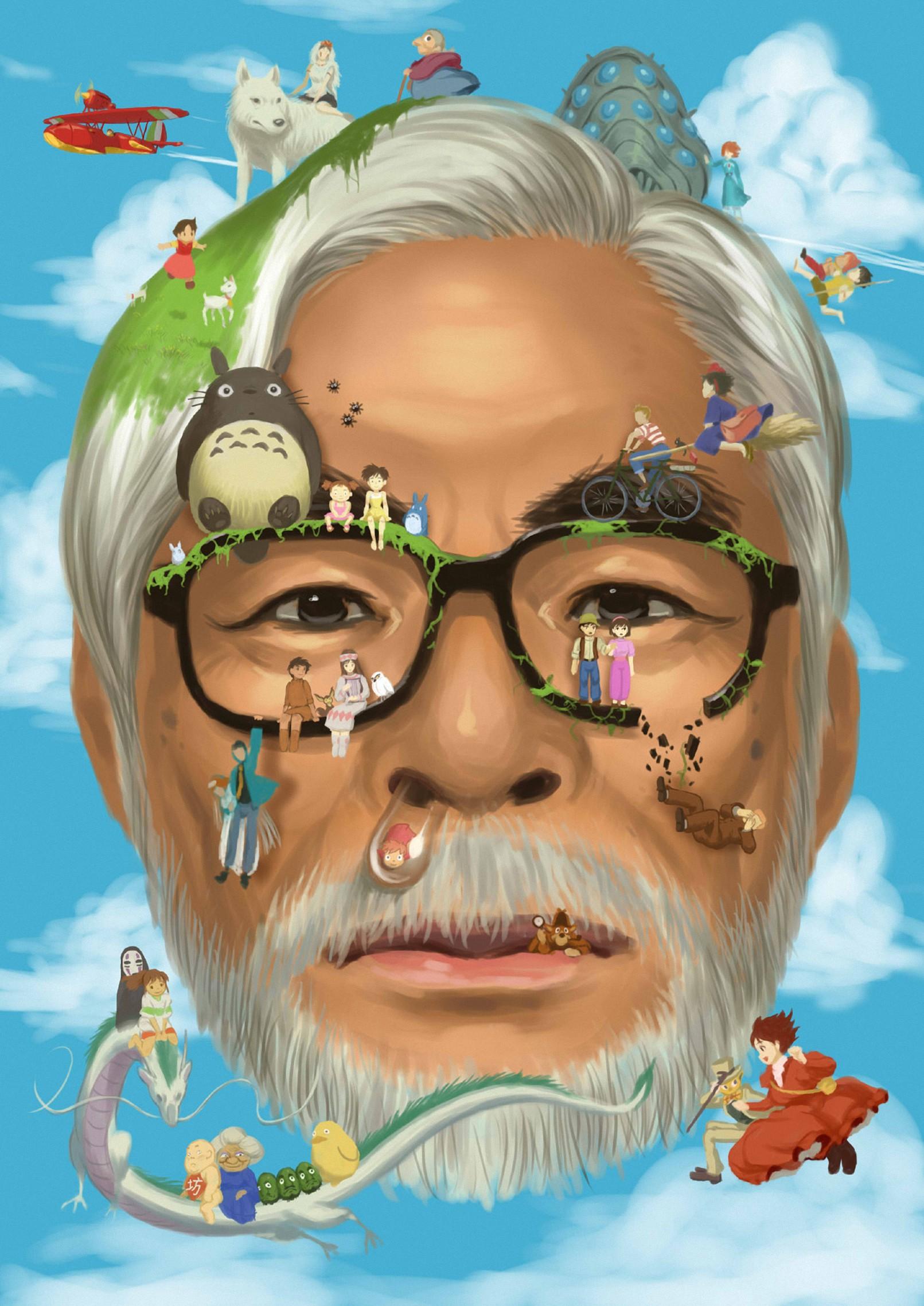 Hayao Miyazaki Pics, Celebrity Collection
