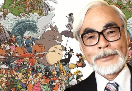 Nice wallpapers Hayao Miyazaki 500x346px