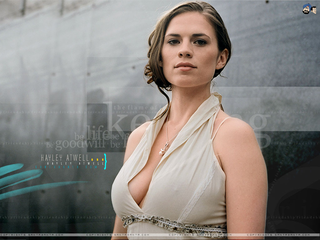 HD Quality Wallpaper | Collection: Celebrity, 1024x768 Hayley Atwell
