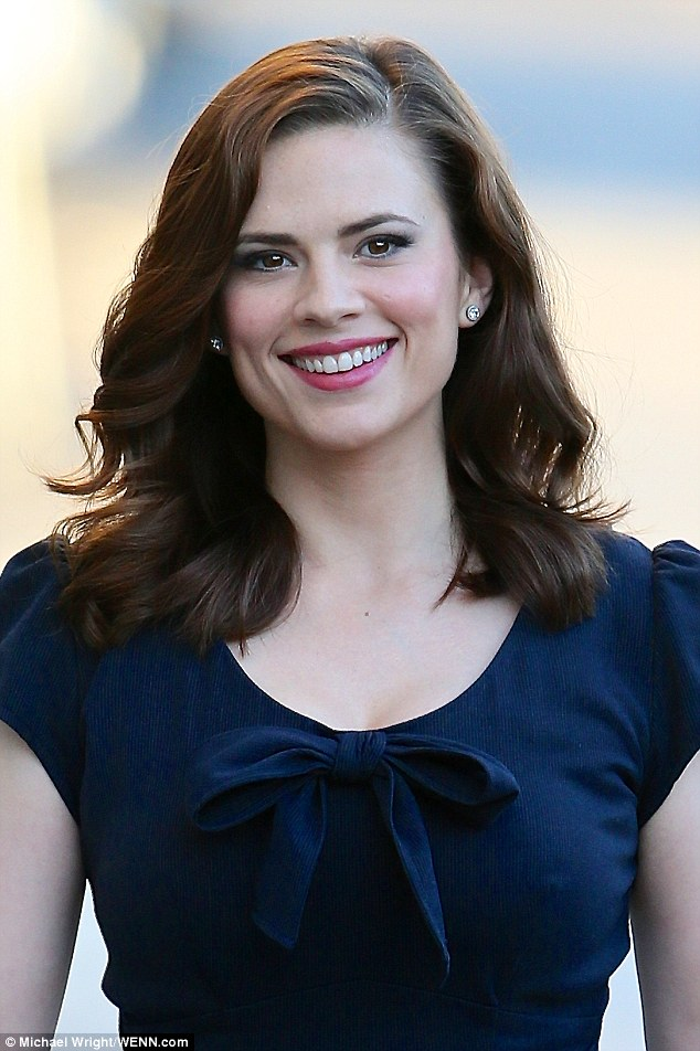 Nice wallpapers Hayley Atwell 634x952px