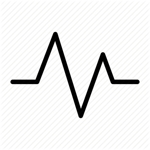 512x512 > Heartbeat Wave Wallpapers