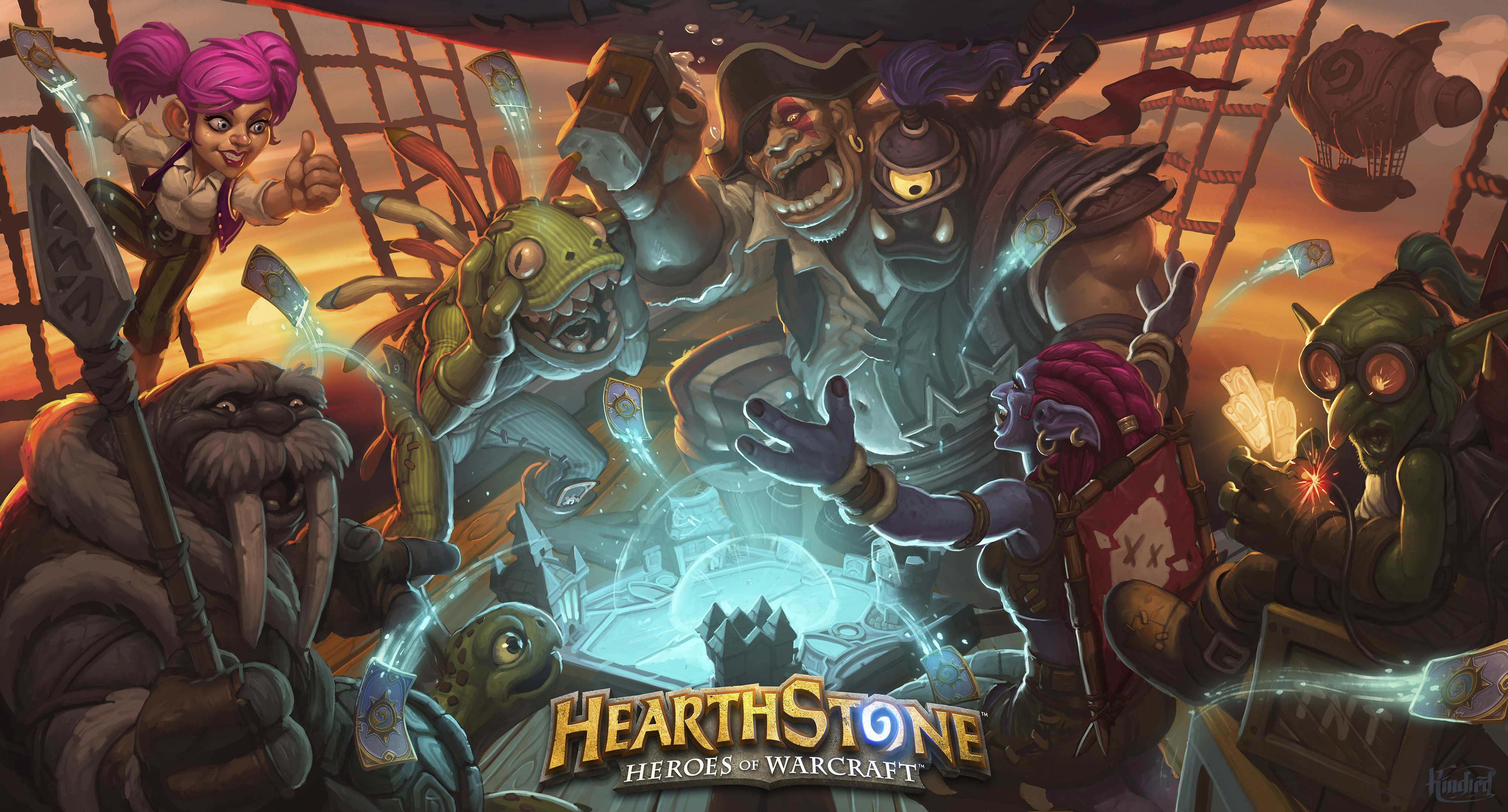 HD Quality Wallpaper | Collection: Video Game, 4000x2154 Hearthstone: Heroes Of Warcraft