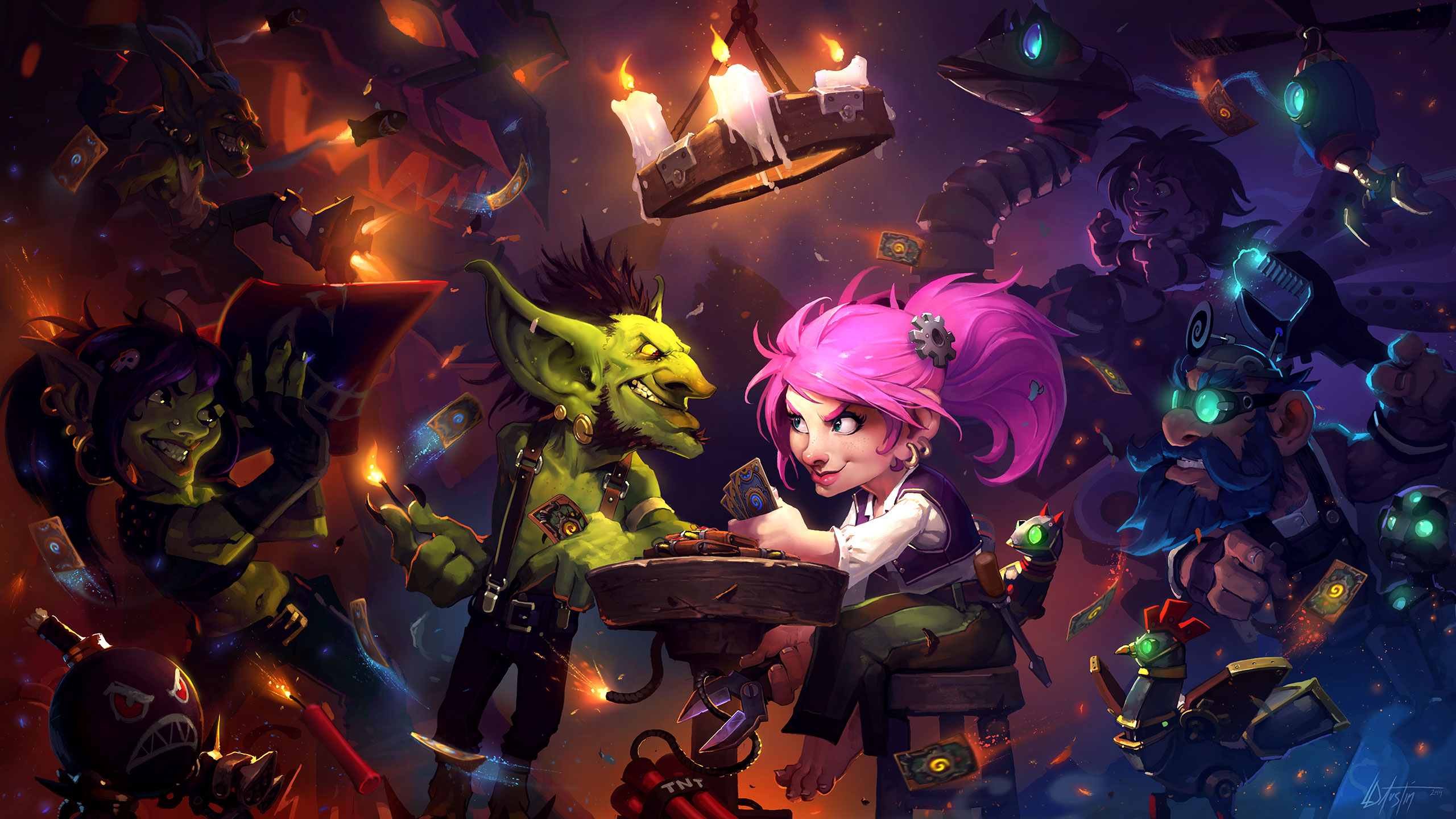 Hearthstone: Heroes Of Warcraft Backgrounds, Compatible - PC, Mobile, Gadgets| 2560x1440 px