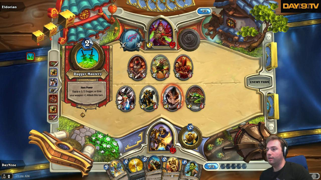 HD Quality Wallpaper | Collection: Video Game, 1280x720 Hearthstone: Heroes Of Warcraft
