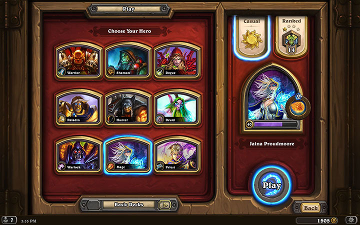 Hearthstone: Heroes Of Warcraft Backgrounds on Wallpapers Vista