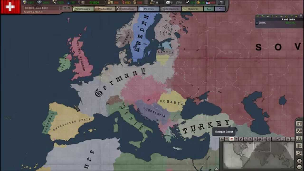 Hearts Of Iron III High Quality Background on Wallpapers Vista