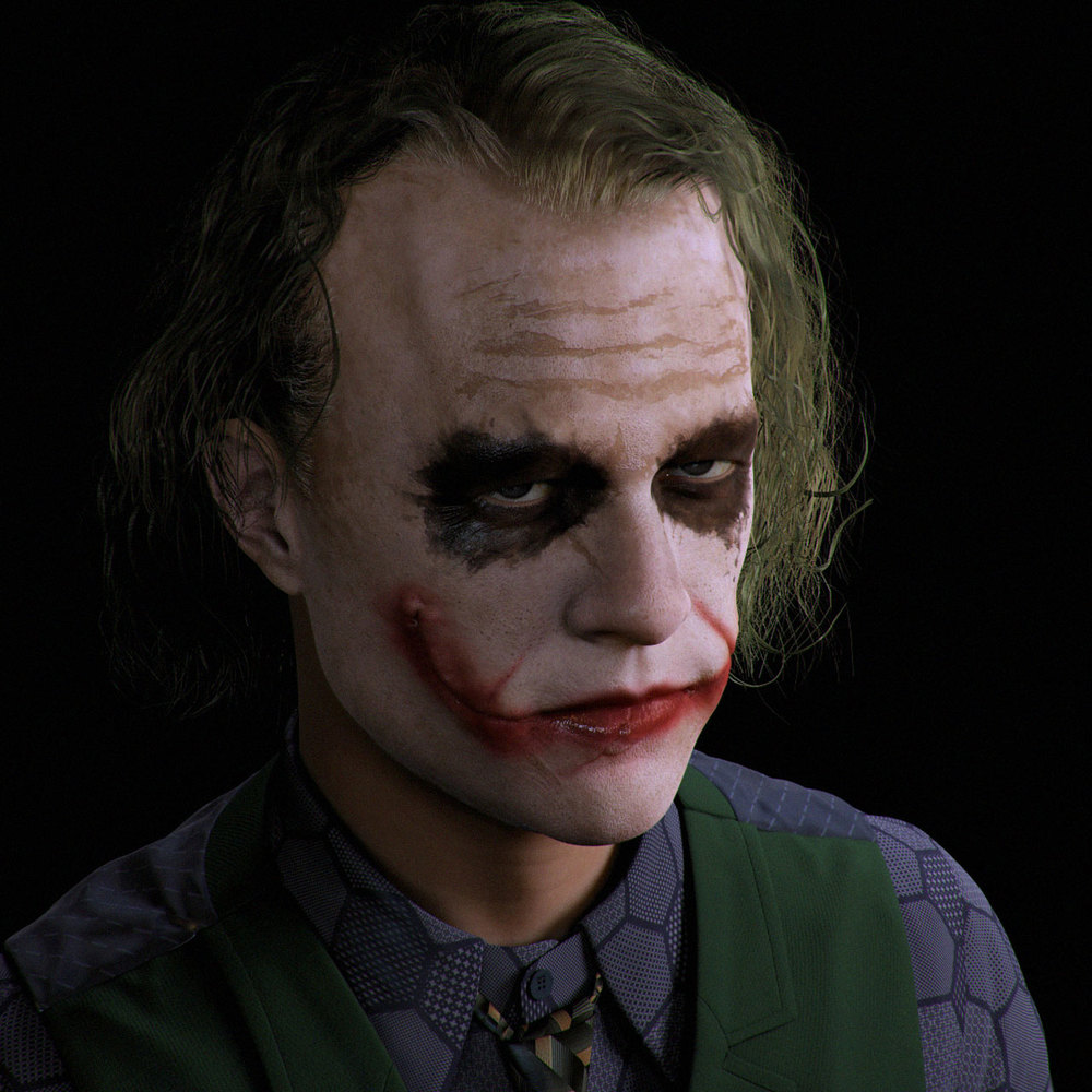 HD Quality Wallpaper | Collection: Celebrity, 1000x1000 Heath Ledger
