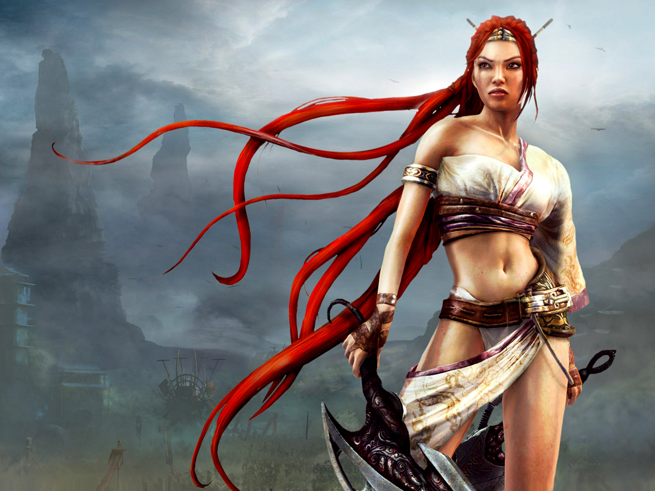 Heavenly Sword Wallpapers Video Game Hq Heavenly Sword Pictures