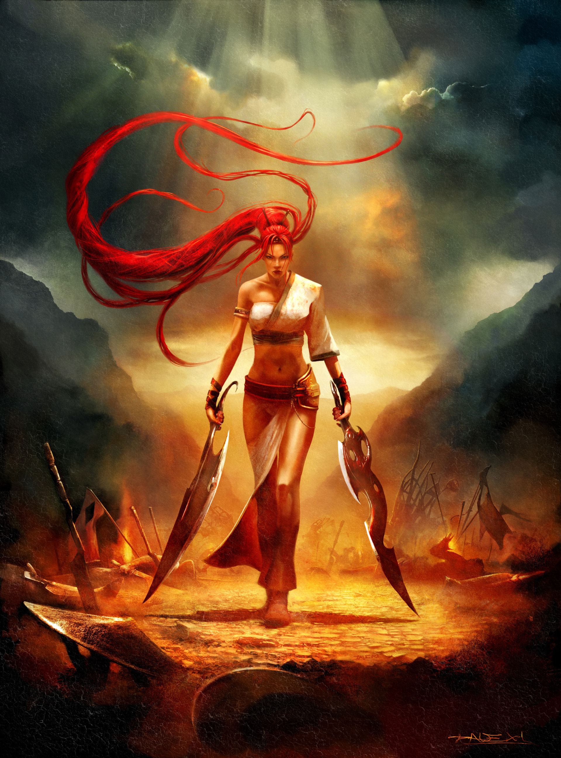 Heavenly Sword High Quality Background on Wallpapers Vista