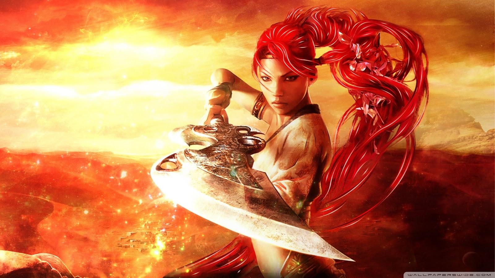 High Resolution Wallpaper | Heavenly Sword 1600x900 px