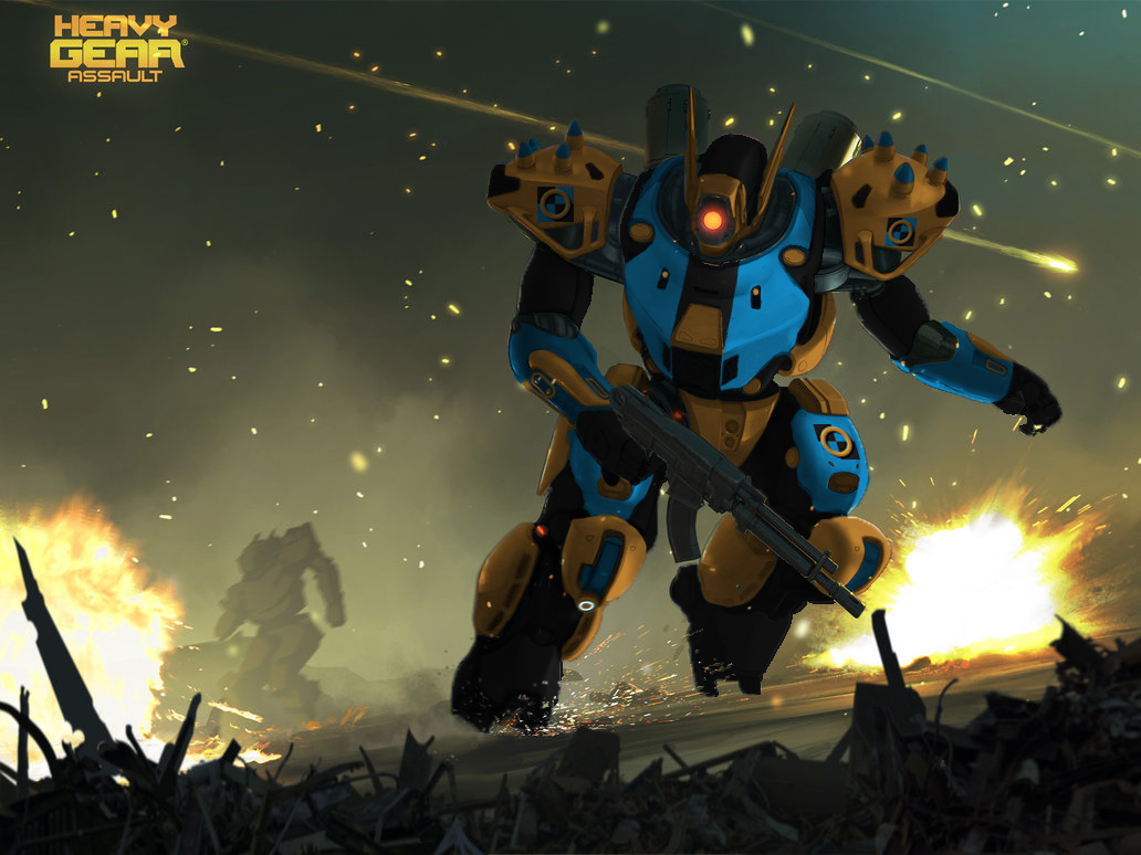 HD Quality Wallpaper | Collection: Video Game, 1032x774 Heavy Gear