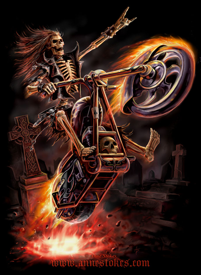HQ Hell Rider Wallpapers | File 174.88Kb