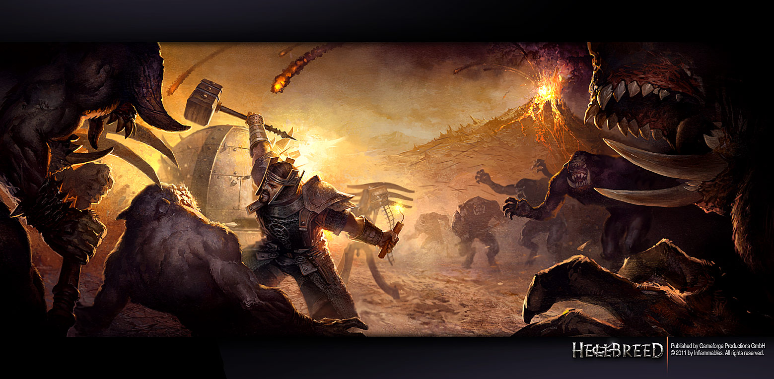 Nice Images Collection: Hellbreed Desktop Wallpapers