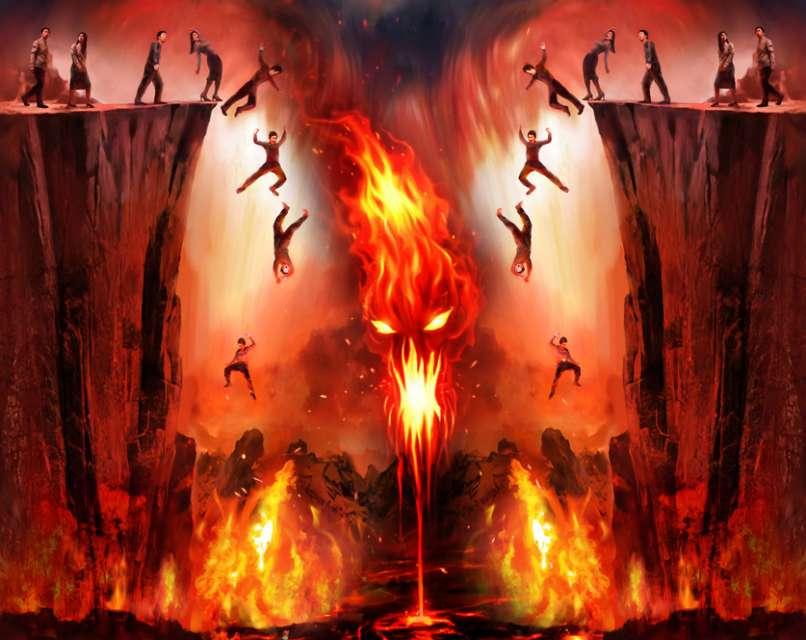 Hellfire Backgrounds, Compatible - PC, Mobile, Gadgets  806x640 px