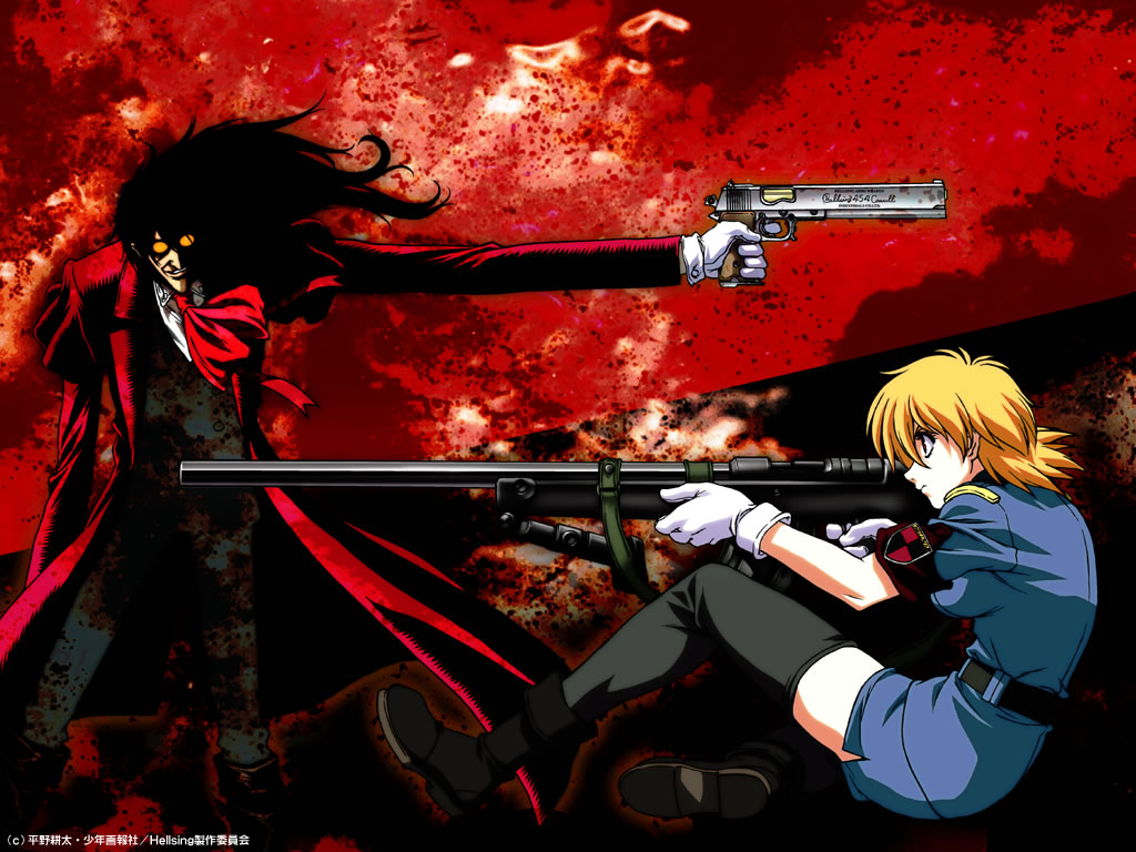 Hellsing High Quality Background on Wallpapers Vista