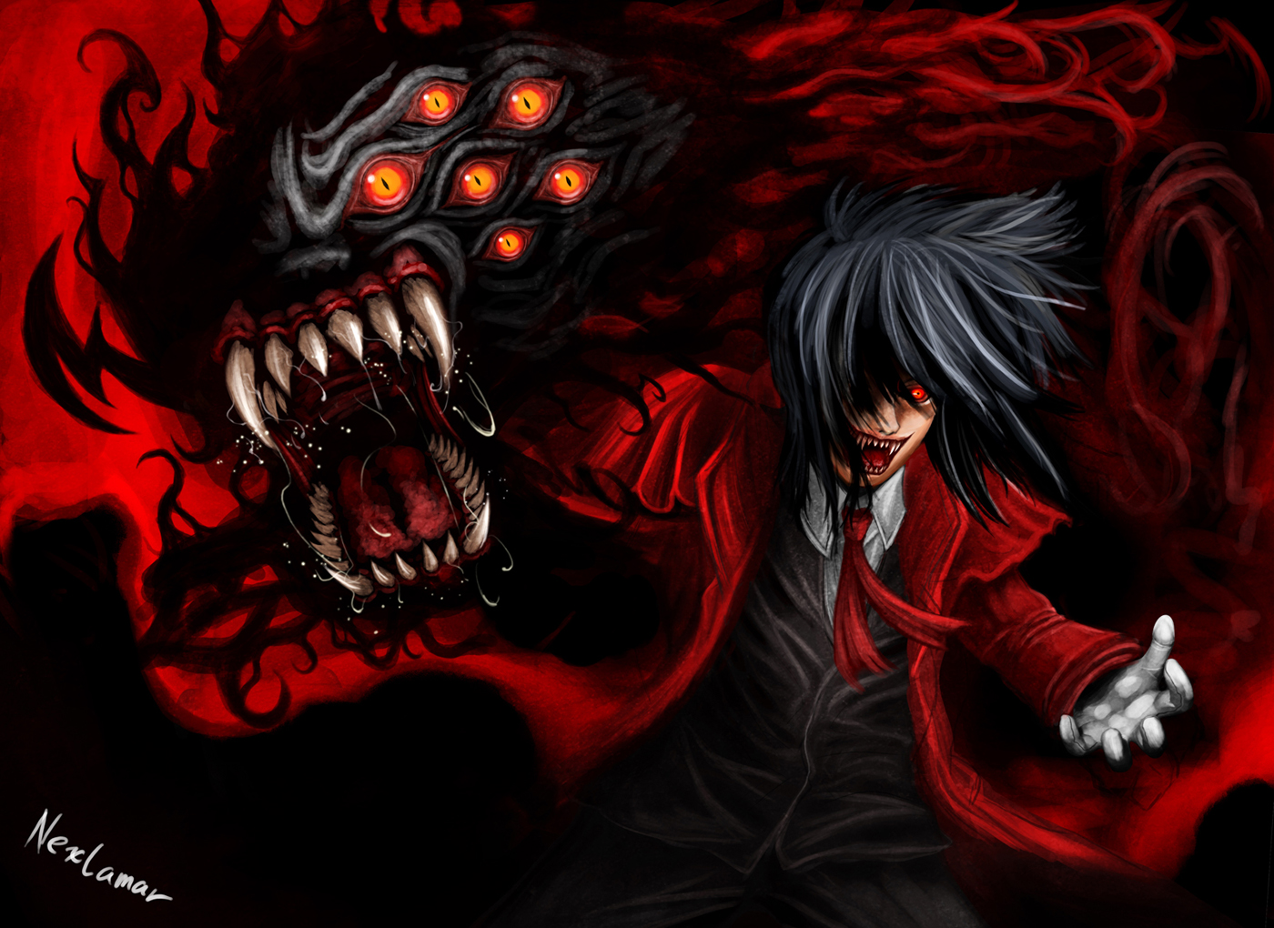 Hellsing Backgrounds, Compatible - PC, Mobile, Gadgets| 1400x1020 px