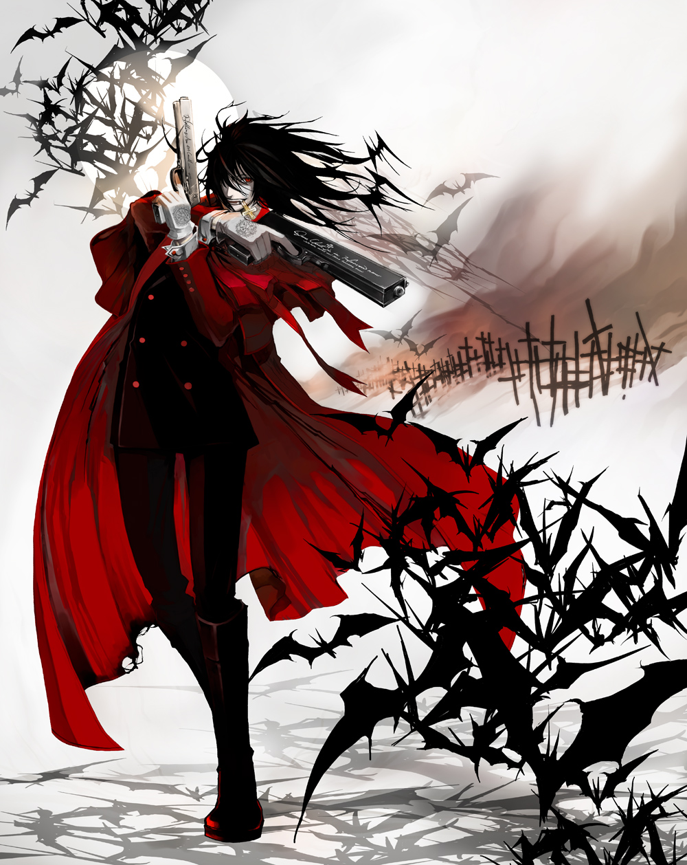 Hellsing Backgrounds, Compatible - PC, Mobile, Gadgets| 1000x1258 px