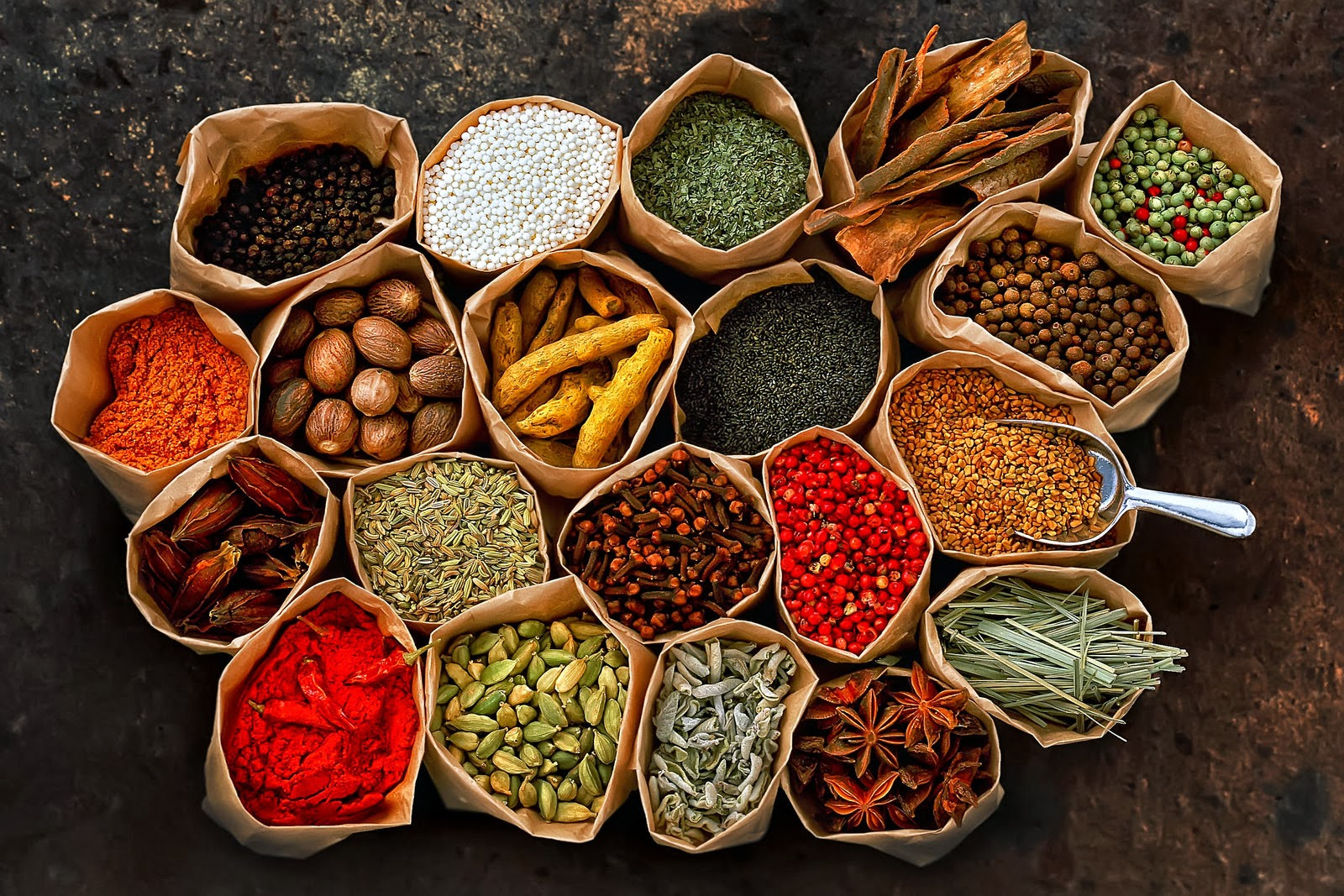 Herbs And Spices Backgrounds on Wallpapers Vista