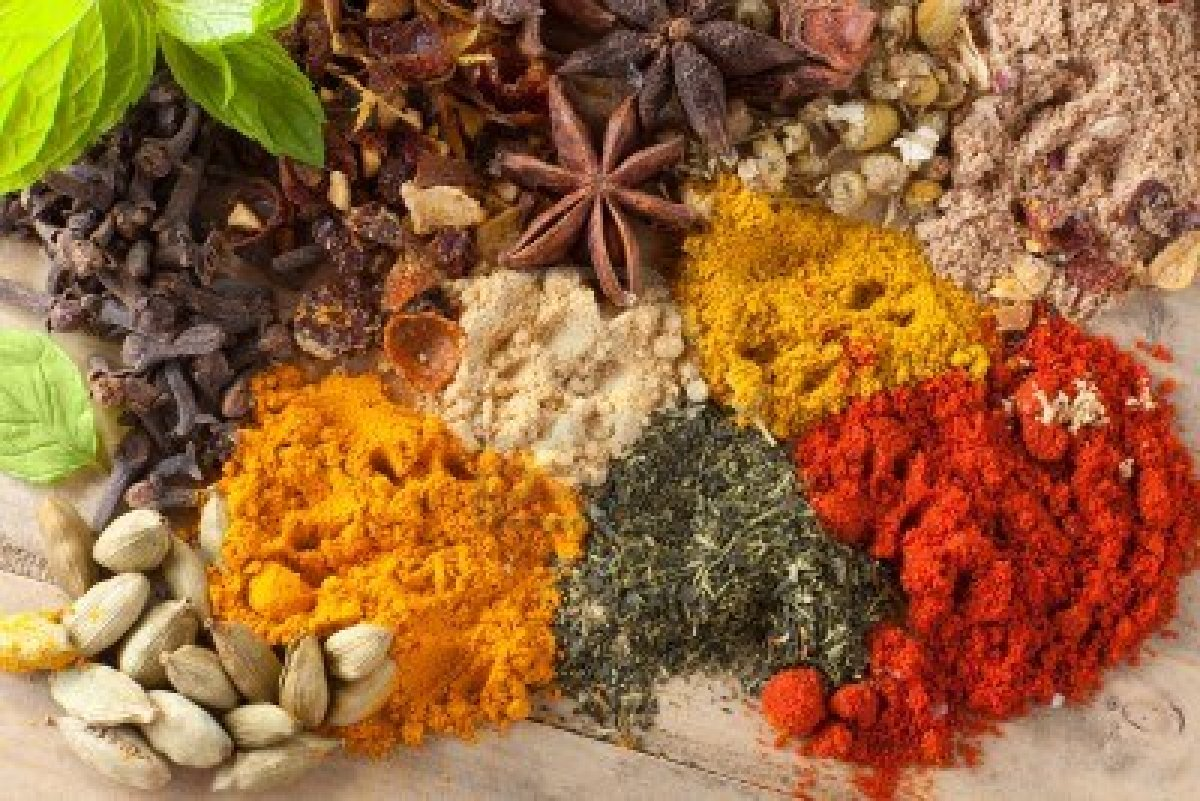 High Resolution Wallpaper | Herbs And Spices 1200x801 px