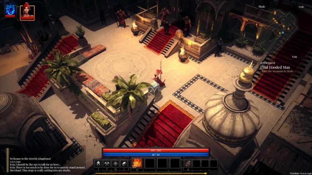 Heretic Kingdoms Backgrounds, Compatible - PC, Mobile, Gadgets| 1024x576 px