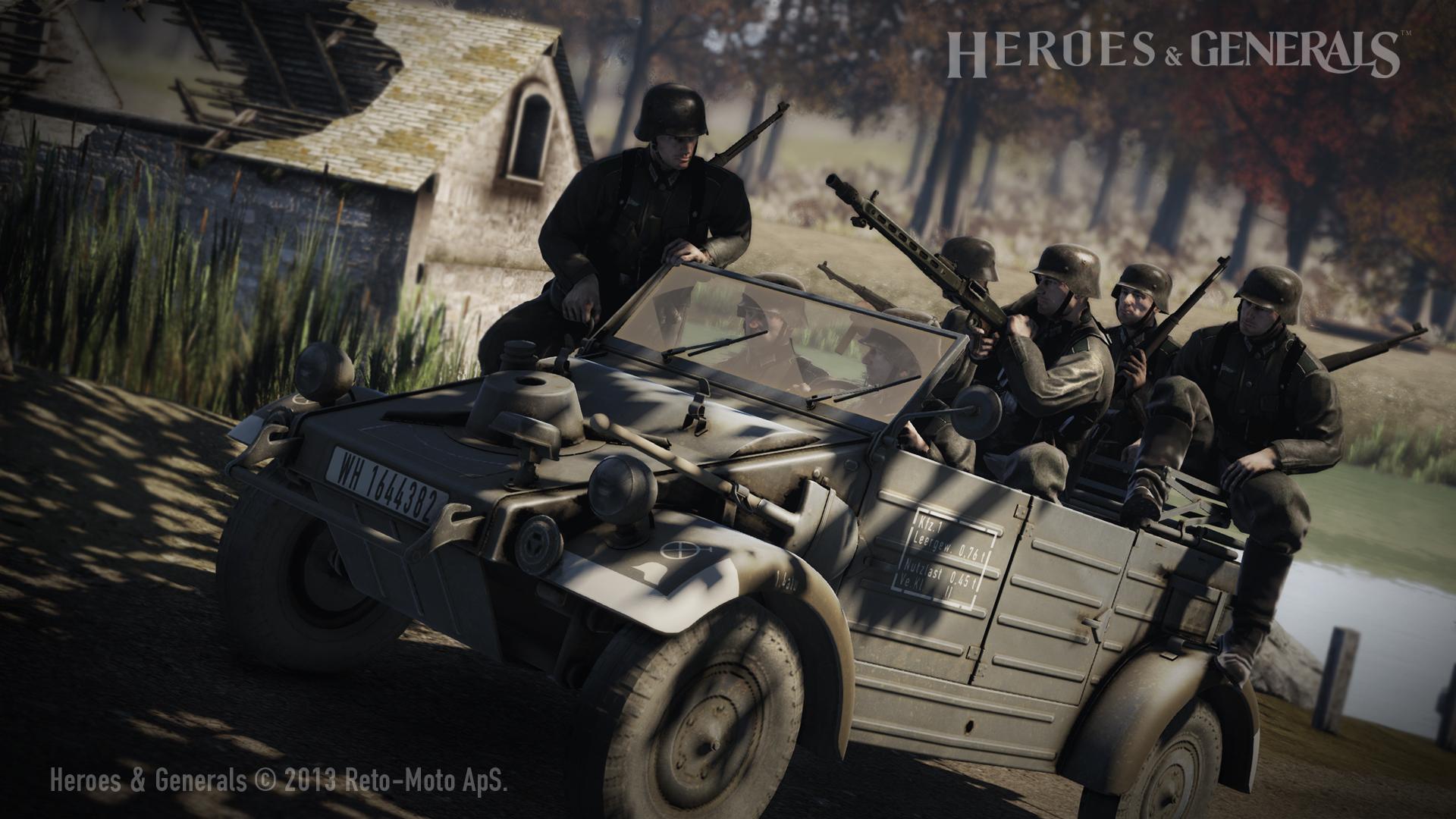 Heroes & Generals #12