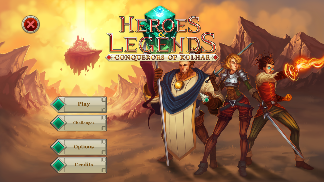 Heroes & Legends: Conquerors Of Kolhar HD wallpapers, Desktop wallpaper - most viewed