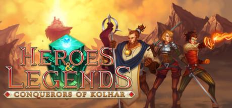 Heroes & Legends: Conquerors Of Kolhar Backgrounds, Compatible - PC, Mobile, Gadgets| 460x215 px