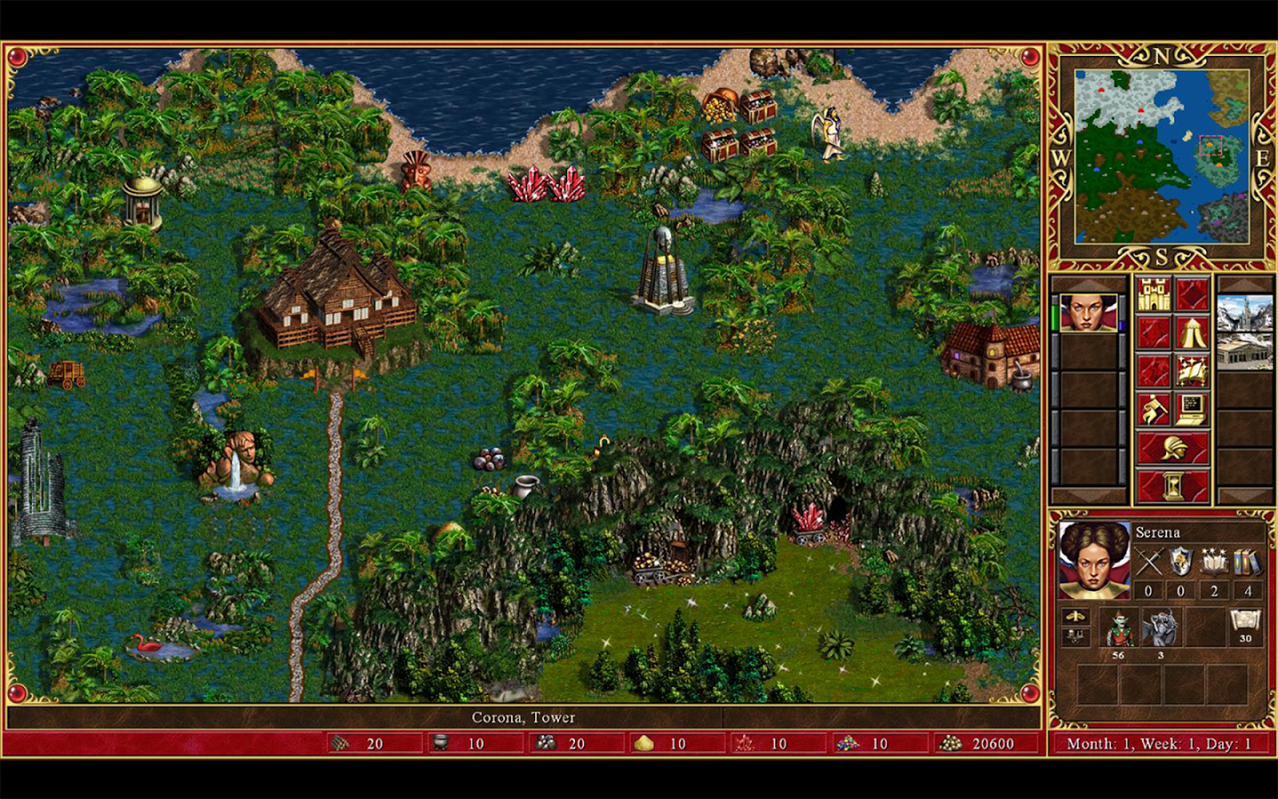 Heroes Of Might And Magic III Backgrounds, Compatible - PC, Mobile, Gadgets| 1440x900 px