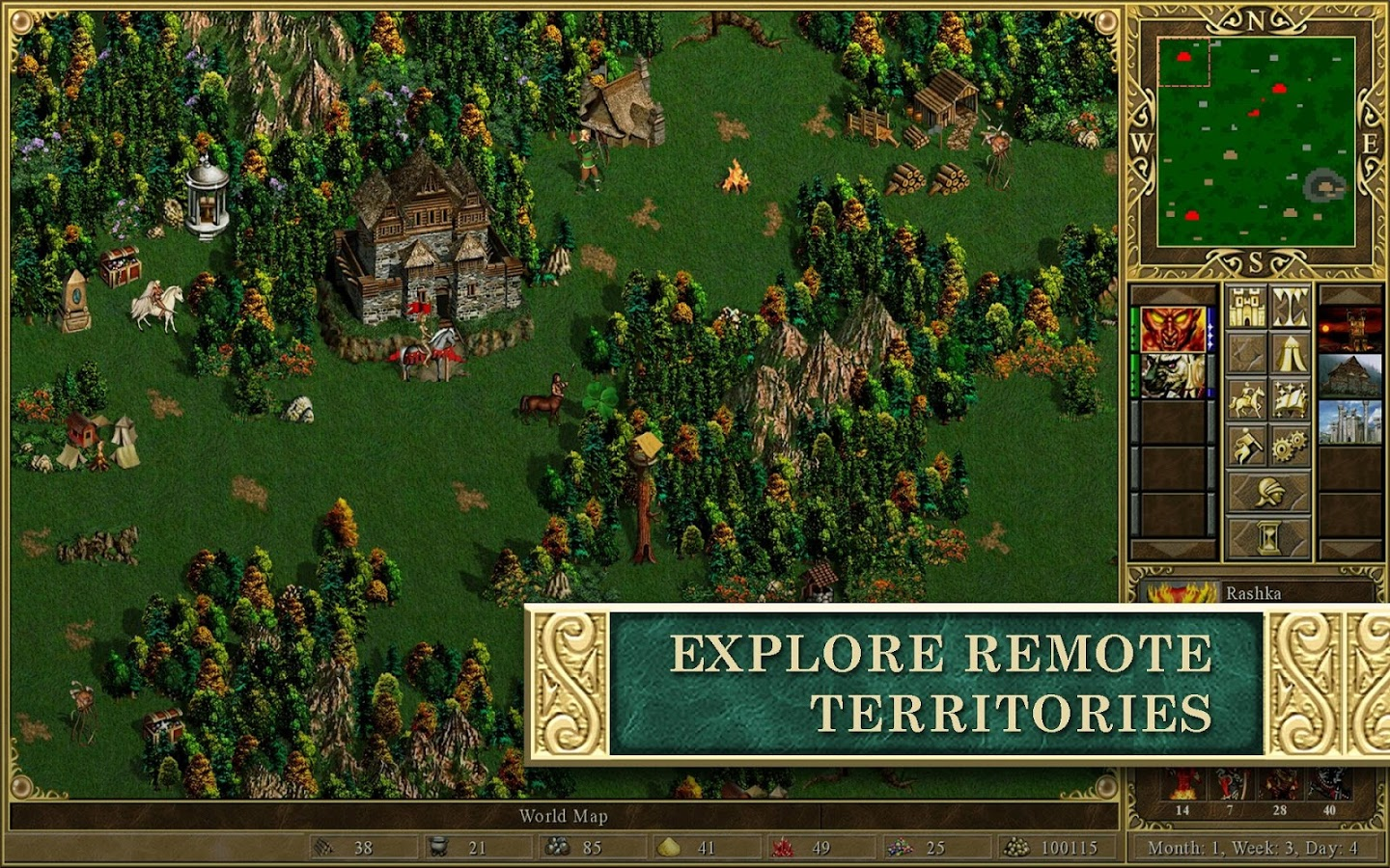 HD Quality Wallpaper | Collection: Video Game, 1440x900 Heroes Of Might And Magic III